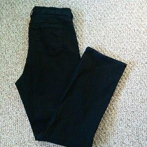 NYDJ Black denim jeans